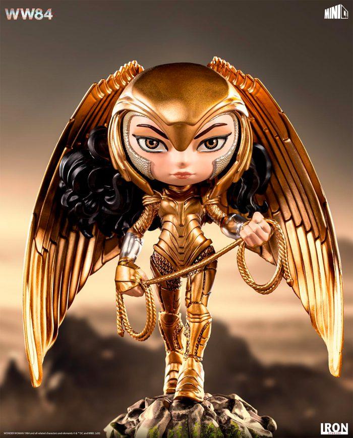 Wonder Woman 1984 Minico - Golden Eagle Armor Statue
