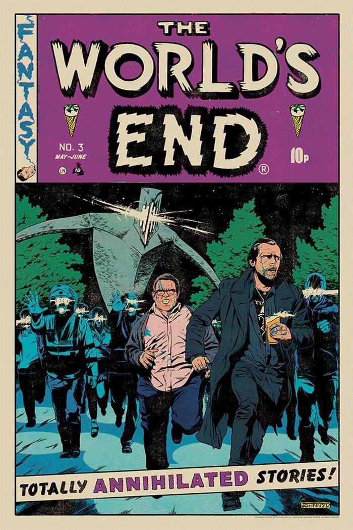 Mondo Cornetto Trilogy Prints - The World's End
