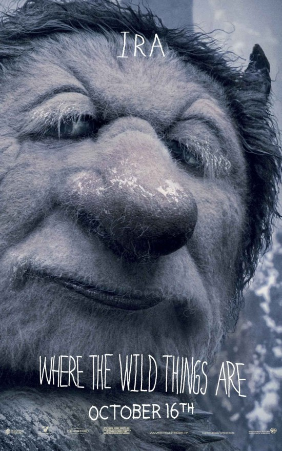 where the wild things are character banner ira