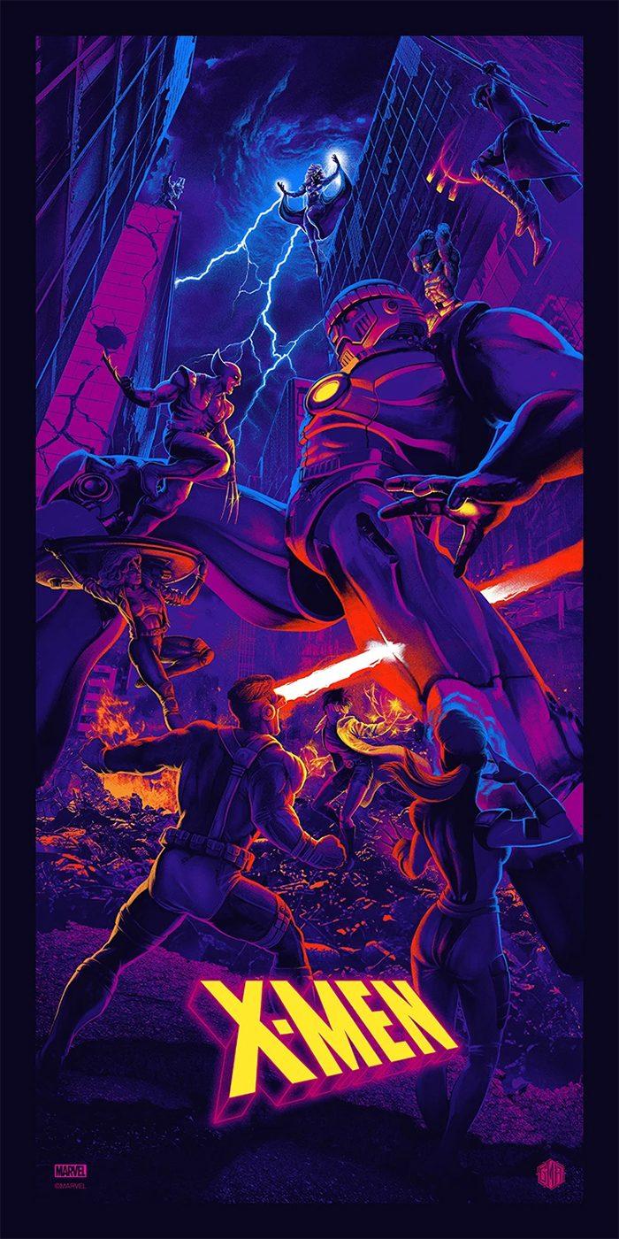 X-Men: The Animated Series by Juan Ramos