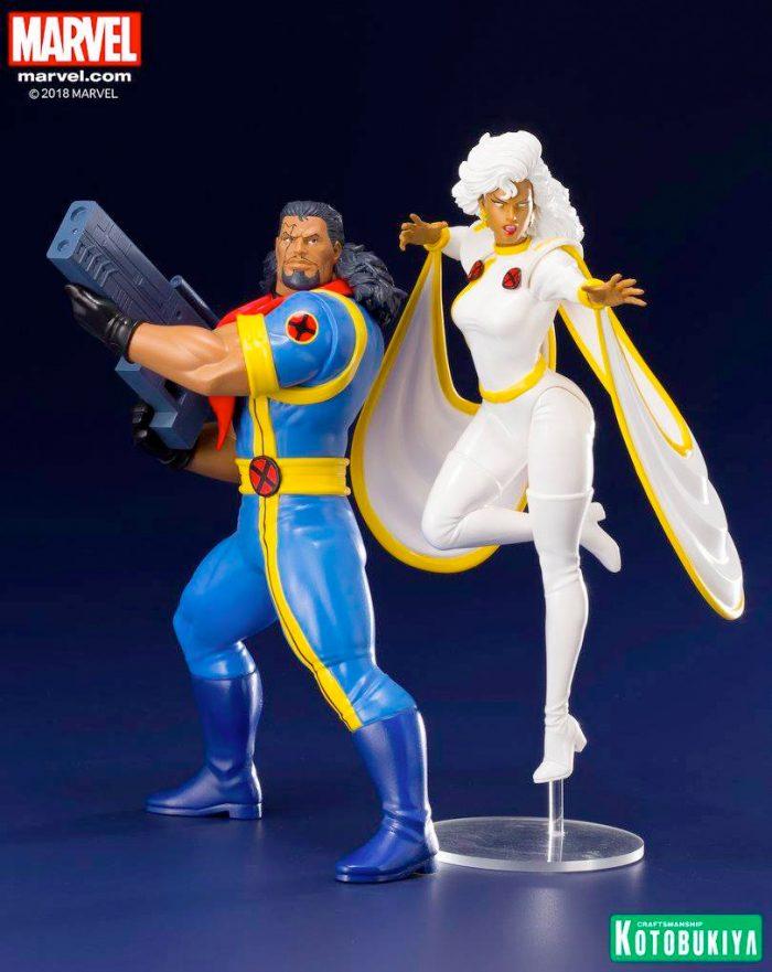X-Men - Bishop and Storm Kotobukiya Statue