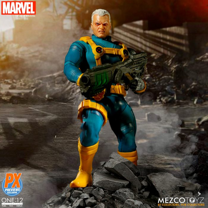 X-Men - Cable One:12 Collective Figure