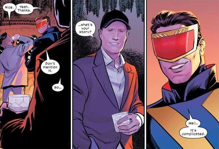 X-Men Comics - Kevin Feige Cameo