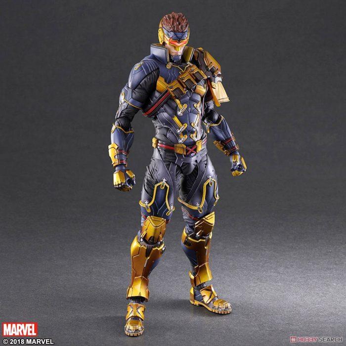 X-Men Cyclops Play Arts Variant Figure
