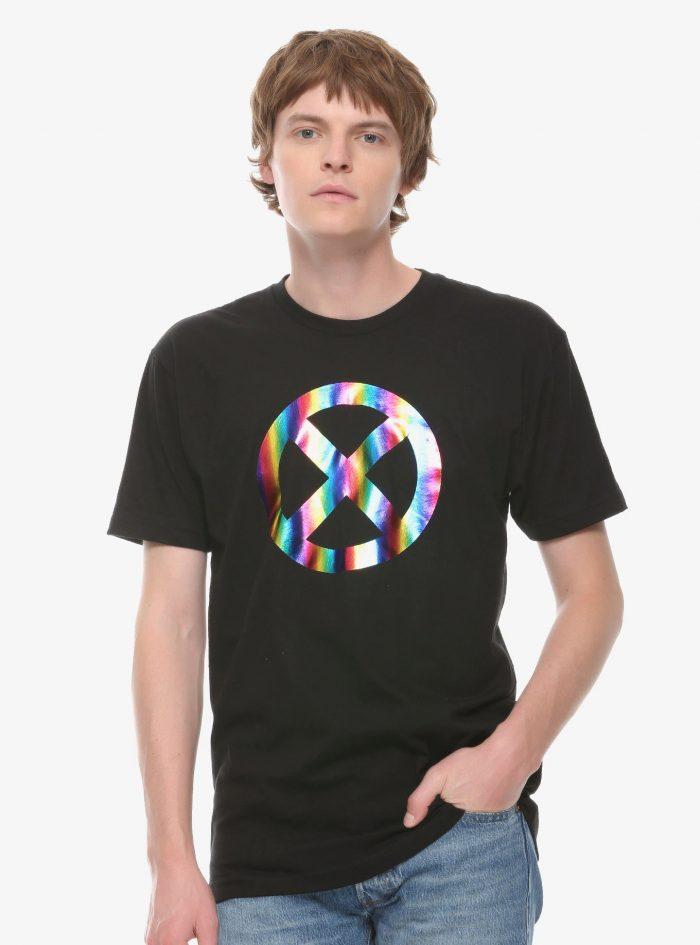 X-Men Gradient Foil Logo Shirt