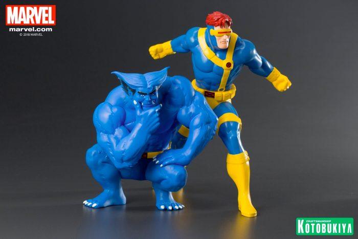 X-Men - Kotobukiya Statue - Cyclops and Beast