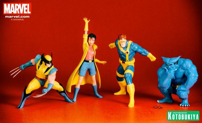 Kotobuikya X-Men Statues