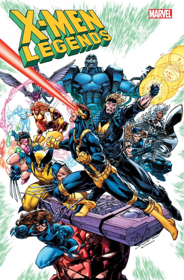 X-Men Legends Cover