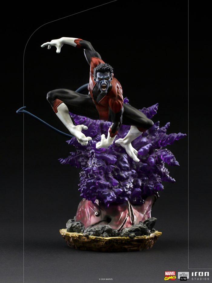 X-Men - Nightcrawler Battle Diorama Statue