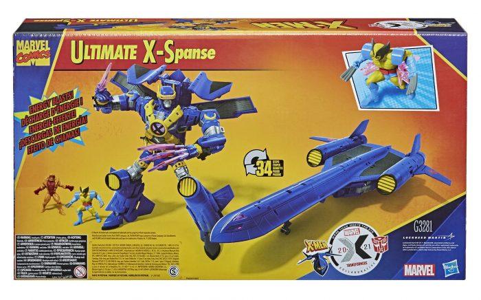 X-Men X-Jet Transformers Figure