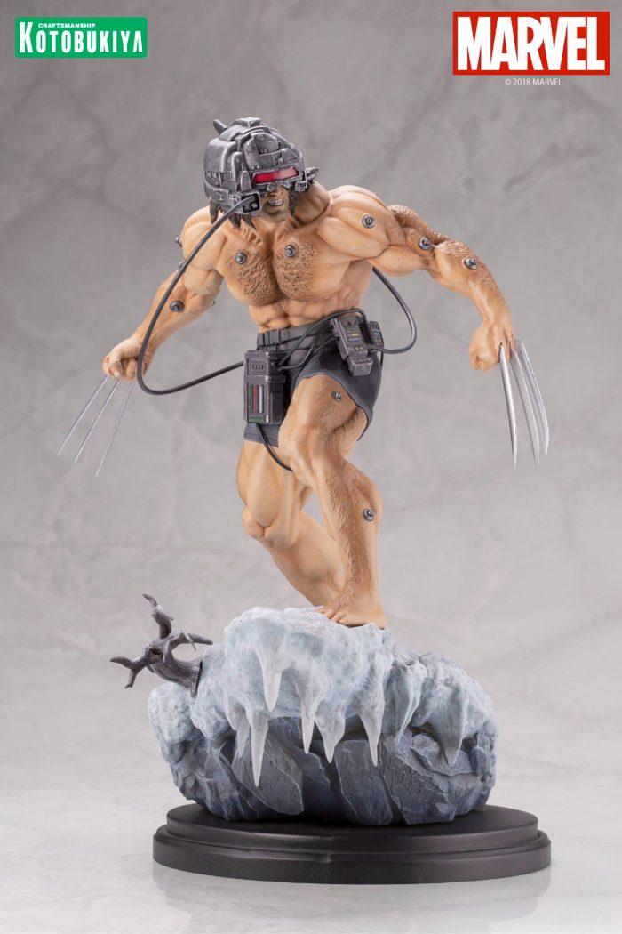 Kotobukiya Weapon X Fine Art Statue