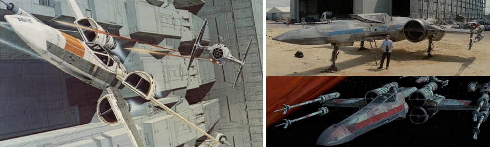 Star Wars The Force Awakens X Wing Ralph Mcquarrie