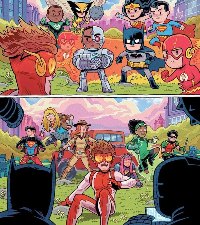Young Justice - Little Justice League