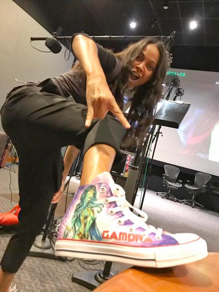 Zoe Saldana - Gamora Shoes