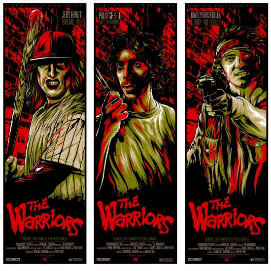The Warriors posters