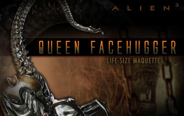 Cool Stuff: Alien3 Queen Facehugger Maquette – /Film