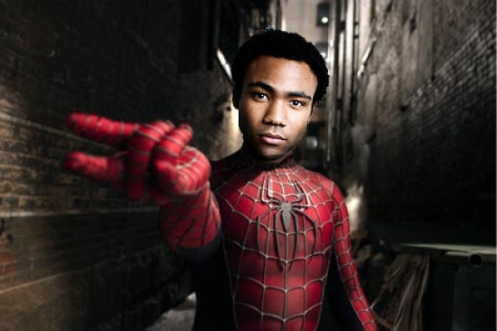 Donald Glover For Spider-Man