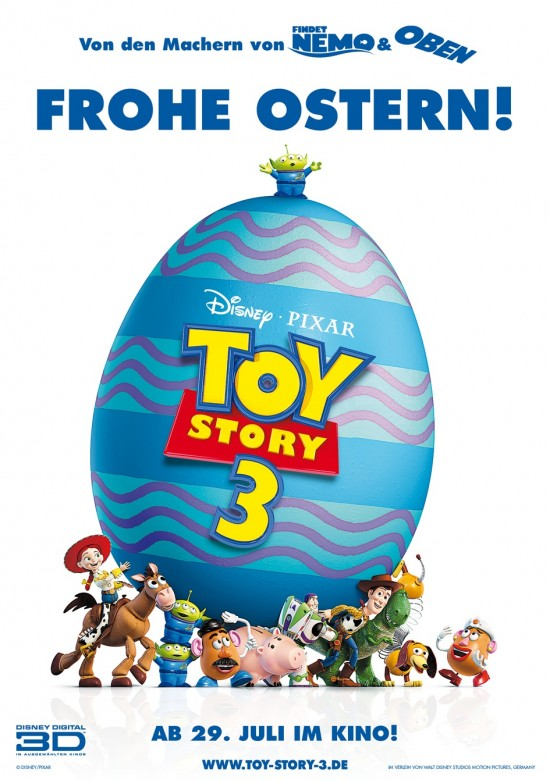 Toy Story 3 Easter Movie Poster International