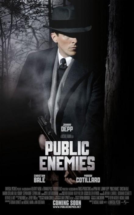 Public Enemies Character poster