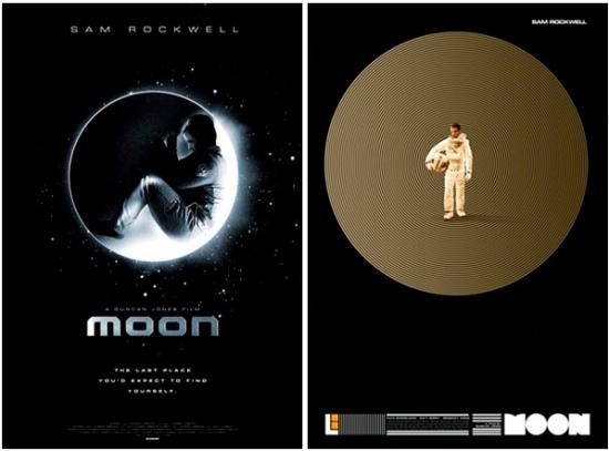Moon unused posters