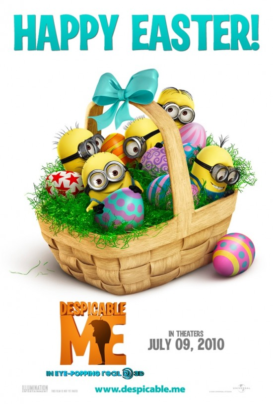 Despicable Me Easter Poster