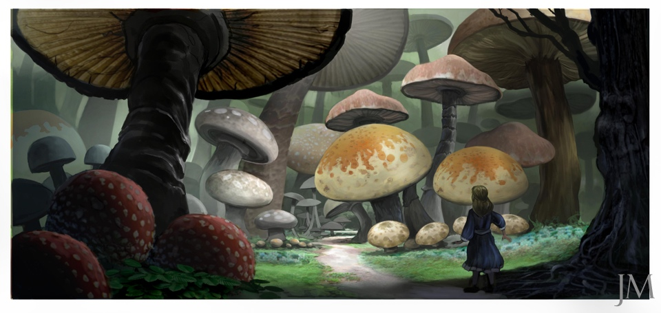 More Concept Art From Tim Burtons Alice In Wonderland Film