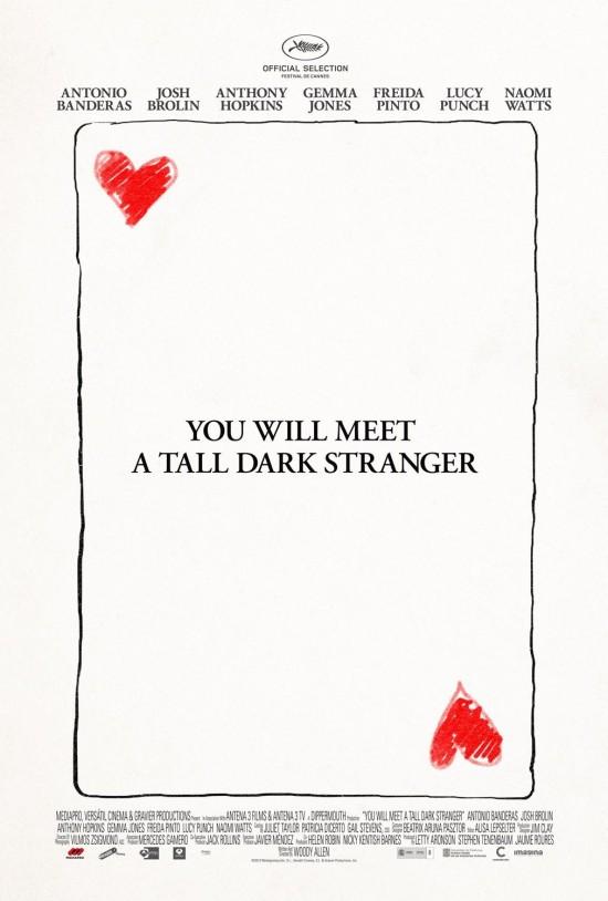 Woody Allen's You Will Meet a Tall Dark Stranger