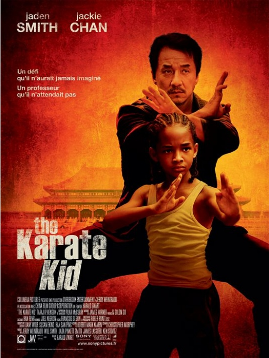 The Karate Kid French Poster