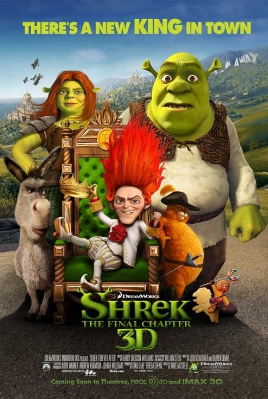 Shrek Forever After UK Poster