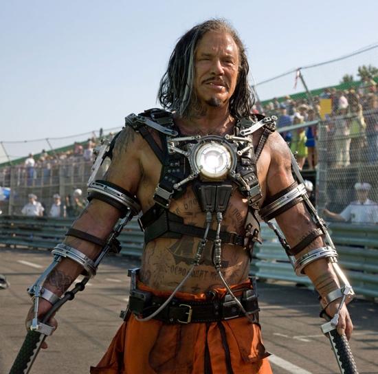 Mickey Rourke as Whiplash in Iron Man 2