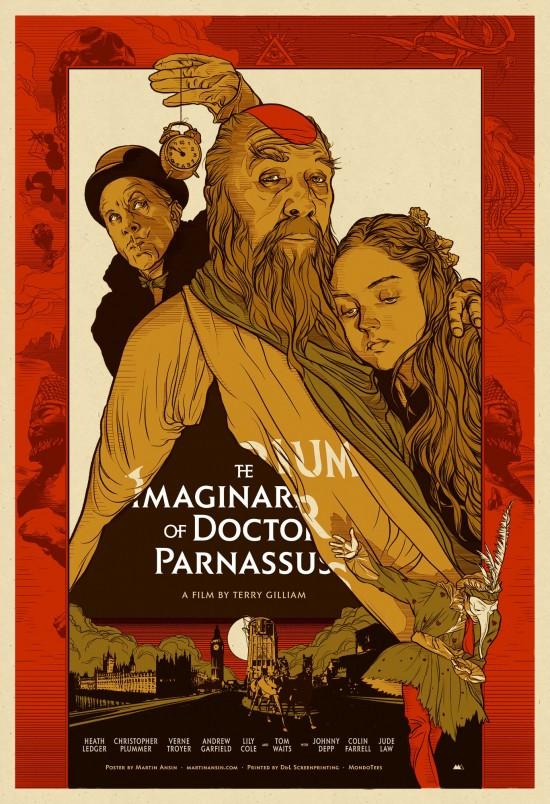 Martin Ansin's The Imaginarium of Dr. Parnassus Poster