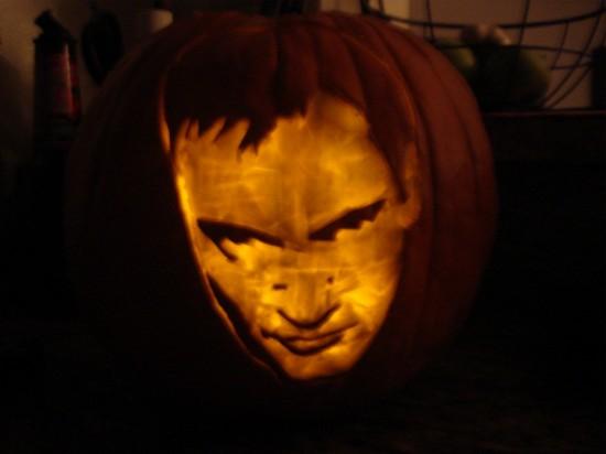 Quentin Tarantino Pumpkin Jackolantern