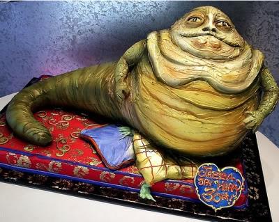 Jabba the Hutt cake