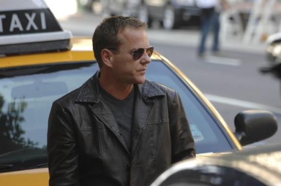 Kiefer Sutherland as Jack Bauer in 24 season 8