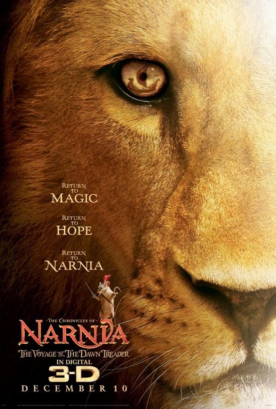 Narnia Dawn Treader poster