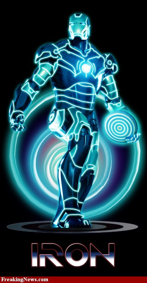Iron Man Tron