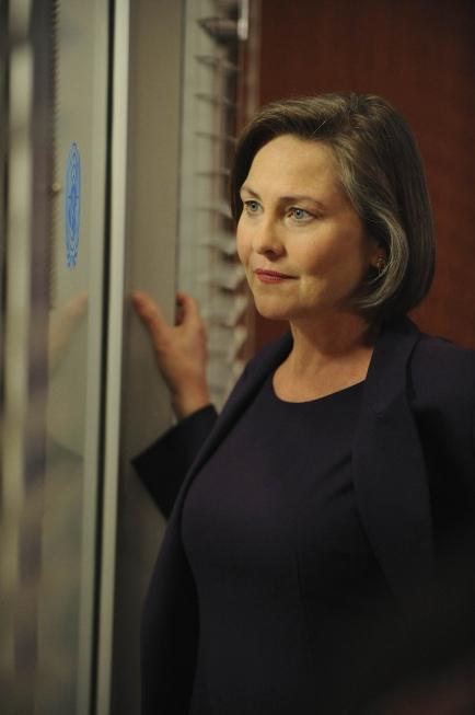 Cherry Jones as President Allison Taylor in 24 season 8