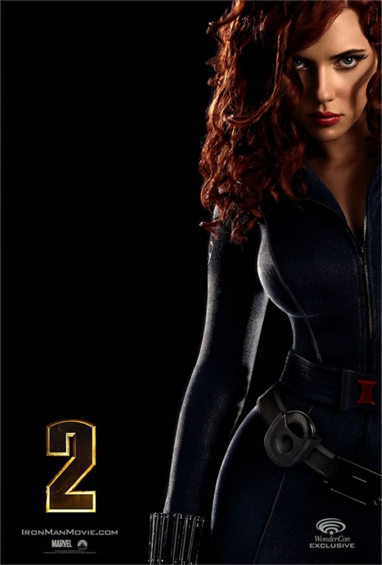 Iron Man 2 Character Poster: Black Widow