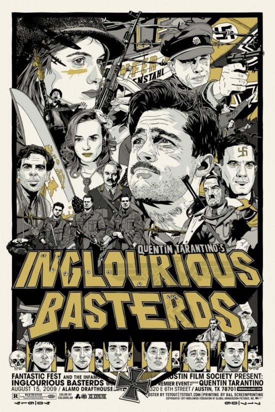 Tyler Stout's Inglourious Basterds Poster