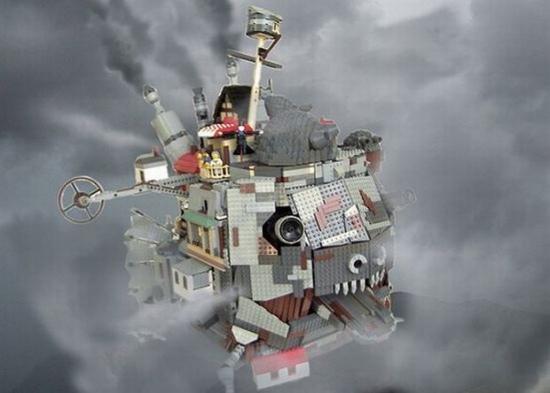 Howl's Moving Castle LEGO