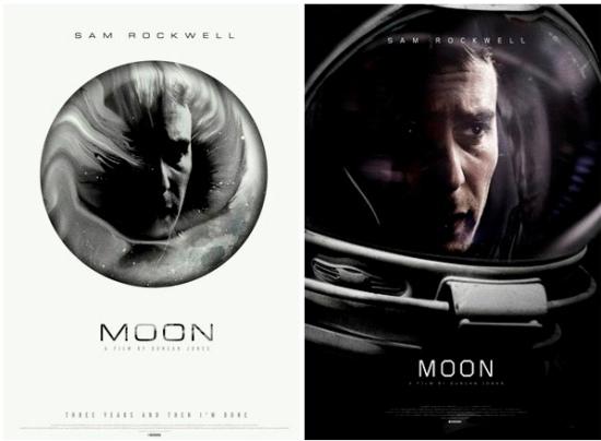 Moon unused poster